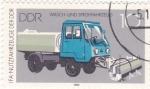 Sellos de Europa - Alemania -  Vehículo de limpieza
