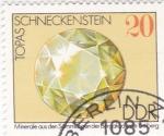 Sellos de Europa - Alemania -  minerales- Topacio