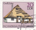 Stamps Germany -  Casas Típicas Alemanas