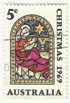Stamps : Oceania : Australia :  NAVIDADES 1969