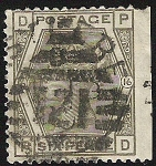 Stamps Europe - United Kingdom -  Queen Victoria