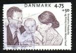 Stamps Denmark -  Príncipe Federico y Mary Donaldson