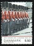 Sellos de Europa - Dinamarca -  Guardia Real