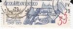 Stamps Czechoslovakia -  Orquesta de Bratislava 1929-1979