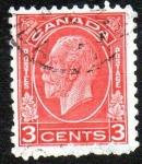 Sellos de America - Canadá -  Rey Jorge V