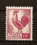 Stamps France -  Algeria / Departamento Frances.