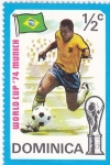Sellos de America - Dominica -  Munich-74