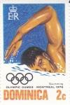 Stamps Dominica -  Juegos Olímpicos Montreal -1976