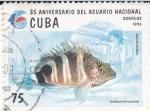 Sellos de America - Cuba -  35 Aniv. del Acuario Nacional