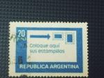 Stamps : America : Argentina :