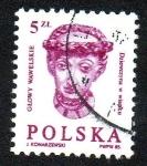 Sellos de Europa - Polonia -  Mujer con corona