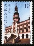 Sellos de Europa - Polonia -  POLONIA -  Ciudad vieja de Zamość
