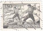 Sellos de Europa - Finlandia -  Raiders