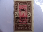 Stamps : Africa : France :  Togo (Rep. Togoleguesa)-Reino de Dahomey (Rep. de Benin) año 1913 (Ocupación Franco-Inglesa)
