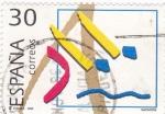 Stamps Spain -  Deportes Olímpicos - Natación  3422    (F)