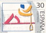 Sellos de Europa - España -  Deportes Olímpicos - Piragüismo  3371   (F)