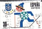 Sellos de Europa - España -  Universiada-81    (F)