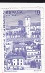 Sellos de Europa - España -  Barrio Albaicín (Granada)    (F)
