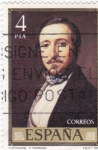 Sellos de Europa - España -  Campoamor(F.Madrazo)     (F)