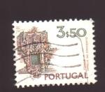 Sellos de Europa - Portugal -  janela de convento