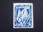 Stamps : America : Argentina :  el riel es nuestro
