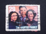 Stamps United States -  the carter family