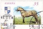 Sellos de Europa - España -  Caballos Cartujanos 3609A    (F)