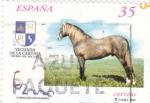 Sellos de Europa - España -  Caballos Cartujanos 3609    (F)