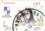 Sellos de Europa - España -  Caballos Cartujanos 3613   (F)