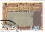 Stamps Spain -  Plaza Mayor de Salamanca (vista aérea)    (F)