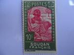 Stamps Africa - Sudan -  Soudan Français