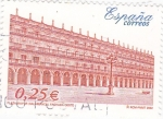 Sellos del Mundo : Europa : España :  Plaza Mayor de Salamanca  fachada oeste    (F)