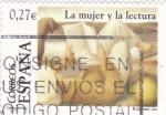 Sellos de Europa - España -  La mujer y la lectura    (F)
