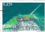 Stamps Spain -  Trazo de tiza    (F)