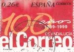 Sellos de Europa - España -  Diarios Centenarios  - EL CORREO de Andalucía    (F)