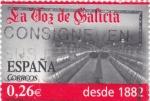 Sellos de Europa - España -  Diarios Centenarios  - LA VOZ DE GALICIA    (F)