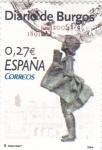 Stamps Spain -  Diarios Centenarios  - DIARIO DE BURGOS    (F)