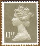 Stamps United Kingdom -  QUEEN ELISABETH II