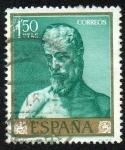 Sellos de Europa - España -  Ribera - San Cristóbal