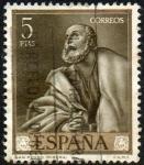 Sellos de Europa - España -  Ribera - San Pedro