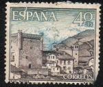 Sellos de Europa - España -  Paisajes y monumentos - Potes (Santander)