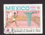 Stamps Yemen -  JUEGOS OLIMPICOS 1968