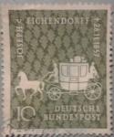 Sellos de Europa - Alemania -  joseph v.eichendorff 1857