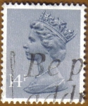 Stamps United Kingdom -  QUEEN ELISABETH II