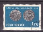 Stamps Romania -  monedas antiguas