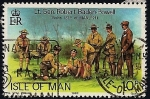 Stamps Europe - Isle of Man -  Visita del Lt. General Robert Baden-Powell a la Isla de Man en 1911