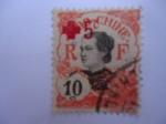 Sellos de Europa - Francia -  Indo-CHine. Cruz Roja-Mujeres Indochinas . Indochina Francesa