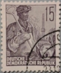 Sellos de Europa - Alemania -  republik clase obrera 1953