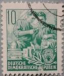 Stamps Germany -  republik 1953