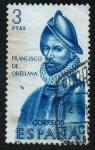 Sellos de Europa - España -  Forjadores de América - Francisco de Orellana